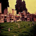 cimitero anni 80 - bagnara