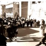 Galleria fotografica completa tratta dall'archivio di Domenico Pavia della tradizionale funzione religiosa paesana della Pasqua del 1961.