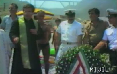 bagnara omaggio ai caduti in mare