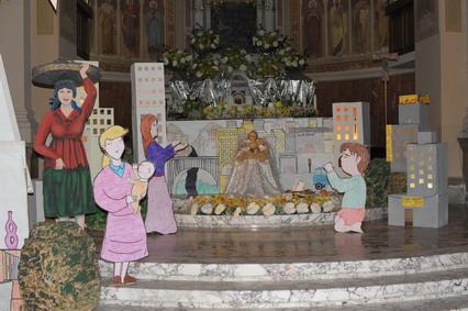 bagnara presepe chiesa abbaziale 2011