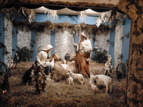 presepi nella chiesa del rosario 2011
