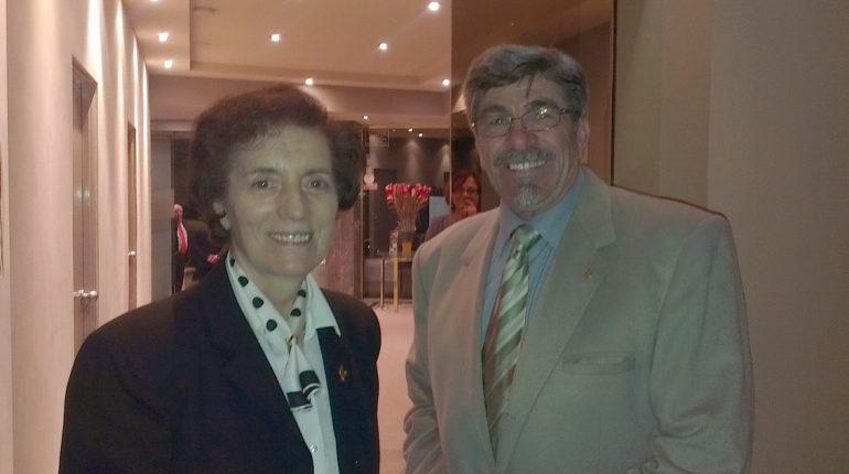 con suor Myriam Castelli