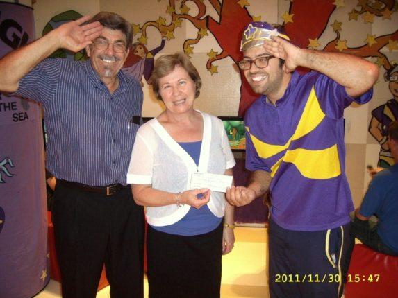 Continua l'attività di beneficenza a favore delle istituzioni pubbliche  dell'associazione Bagnara Calabra di Sydney
