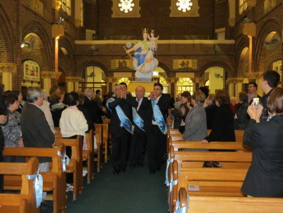 16 giugno 2012 La consacrazione della statua della madonna di Portosalvo a Sydney