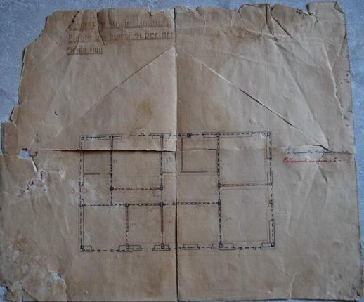 Casa di Ottaviano Parisio in via Matrice 1914 - 1925 disegni, progetti, calcoli e costi