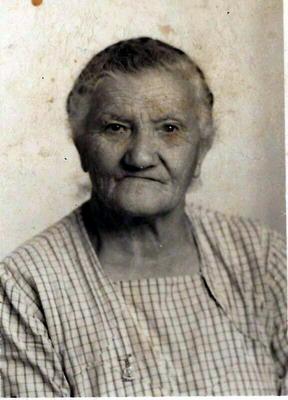Lucia Calabrò classe 1902 detta a Garibalda