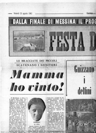venerdì 25 agosto 1961 bagnara