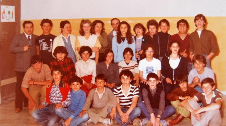 1980  LA TERZA F DELLA SCUOLA MEDIA UGO FOSCOLO