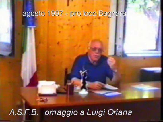 Omaggio a Luigi Oriana