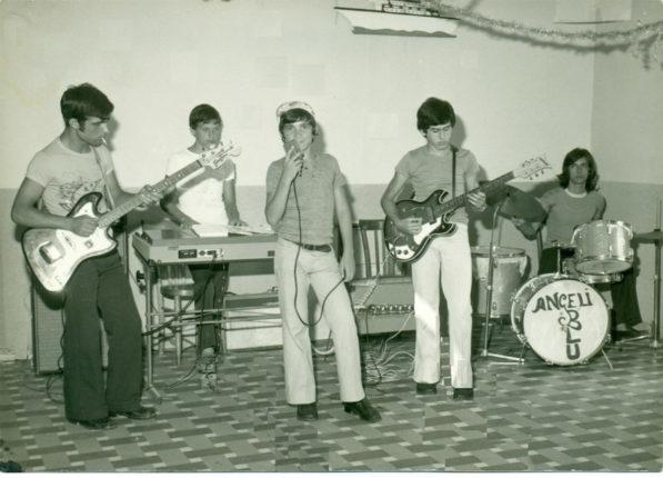Il gruppo nel 1973