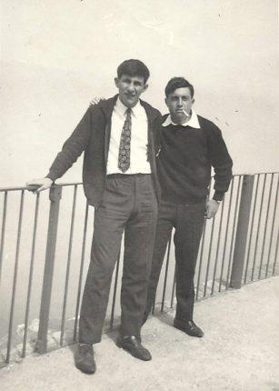 A S. Elia con Lillo Pellegrino