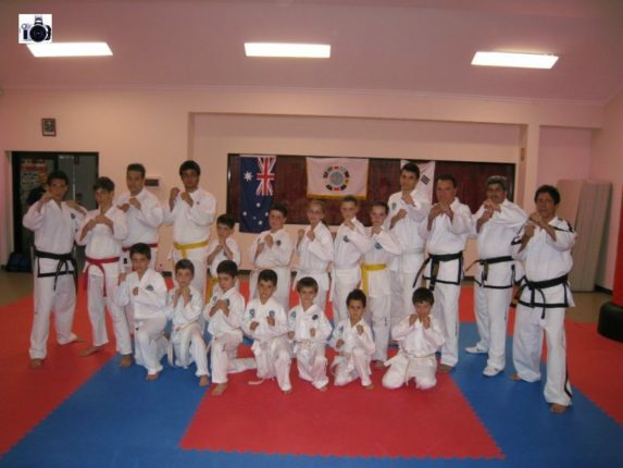 Tripodi International Taekwon-Do  foto di gruppo 2008 gianni tripodi bagnara