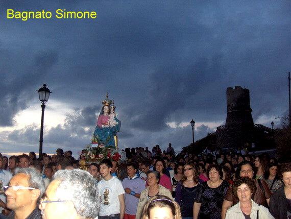 La Madonna di polsi a Bagnara  Giugno 2010  foto di Bagnato Simone