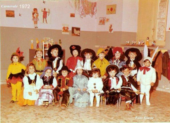 Asilo De Leo 1972 - festa di carnevale.