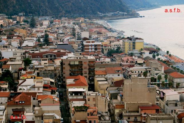 L'agglomerato urbano visto dal belvedere