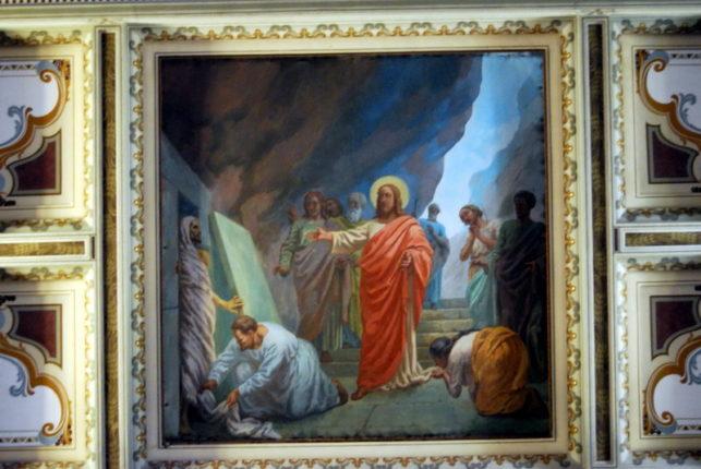 Galleria artistica delle opere esposte nella chiesa Abbaziale di Bagnara Calabra e interni della chiesa - 240 foto