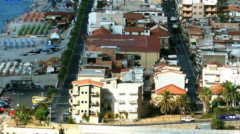 La zona sud del centro cittadina agosto 2008