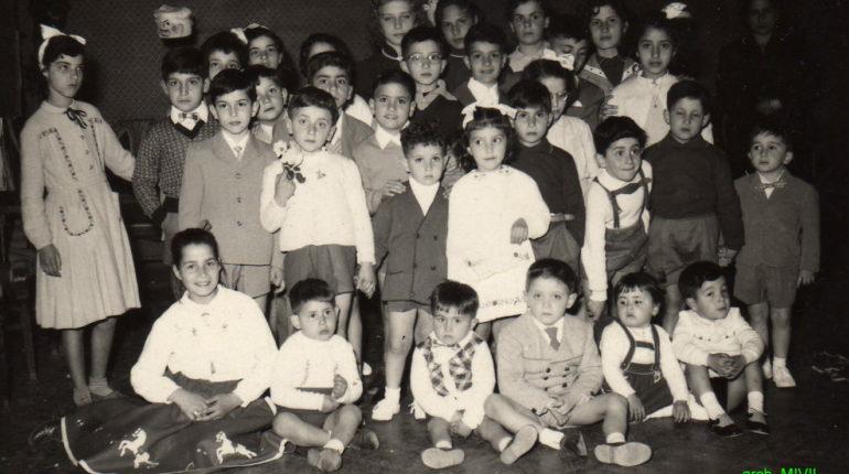 Festa di carnevale al circolo unione - 1953 -