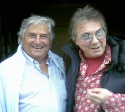 dott. Carmine Versace sindaco della cittadina (1978 /80)  assieme al musicista Tullio De Piscopo