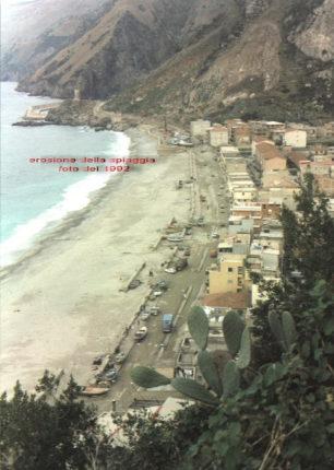 Bagnara Calabra  La spiaggia di Marinella del 1992