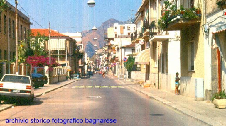 2 foto del corso Vittorio Emanule II visto da sud dopo la metà degli anni 90
