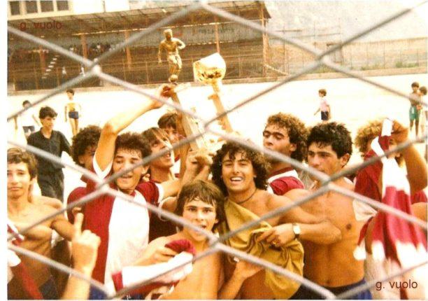 Vittoria del rione Arangiara in una edizione del torneo estivo dedicato alla memoria di  Fabio De forte