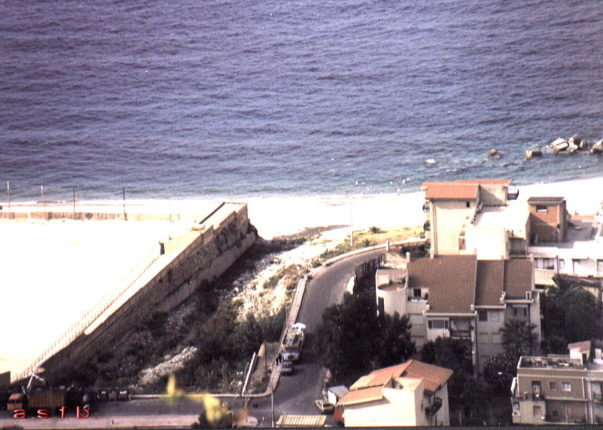 Bagnara Calabra 1995  La foce dello Sfalassà