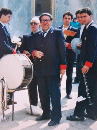 dal 1939 prima come flicorno contralto ed ultimamente come percussionista è stato un pilastro fondamentale della banda cittadina. Un affettuoso saluto ed omaggio per la sua lunga attività