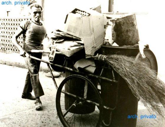"""Ricordiamo con simpatia il sig. Giuseppe Musumeci detto """"mastru peppi""""  foto anni 70"""