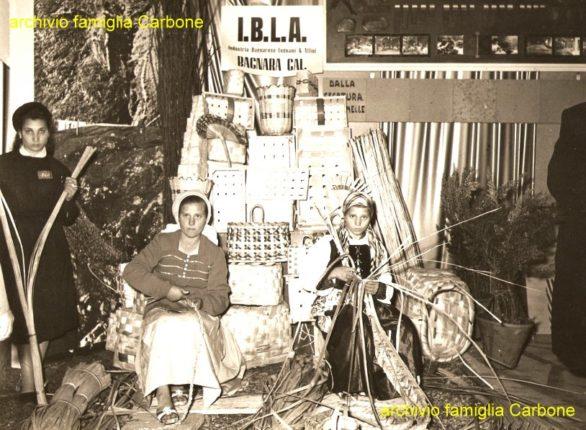 ditta IBLA di Bagnara Calabra foto anni 50 - archivio famiglia Carbone