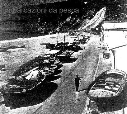 Lungomare di Marinella  negli anni 60