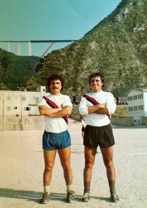 "BAGNARA 1978  due indimenticabili campioni della Bagnarese  ""Turuzzu"" Musumeci e Bruno Laurend"