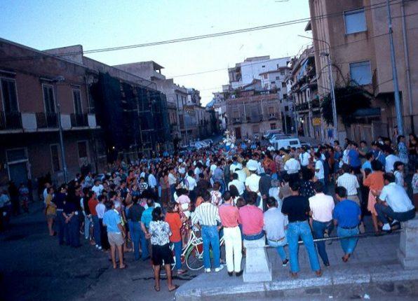 Processione di Maria SS. di Portosalvo del 1990