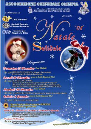 PROGRAMMA FESTIVITA' NATALIZIE  ASS. CULTURALE OLIMPIA 2008