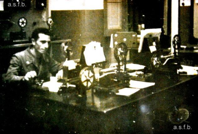 apparati dell'ufficio telegrafico principale di Bagnara