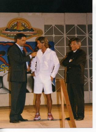 Premio sport Balnearia  agosto 2003   Tommaso Ramondino (presidente bagnarese)  Benny Carbone (calciatore internazionale ed allenatore)  Santi Zappalà (sindaco della cittadina)  e tanti graditissimi ospiti
