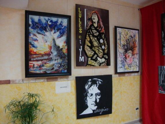 """""""L'ARTISTI I BAGNARA"""" seconda edizione  Esposizione delle opere  servizio fotografico di Carmelo Zoccali"""