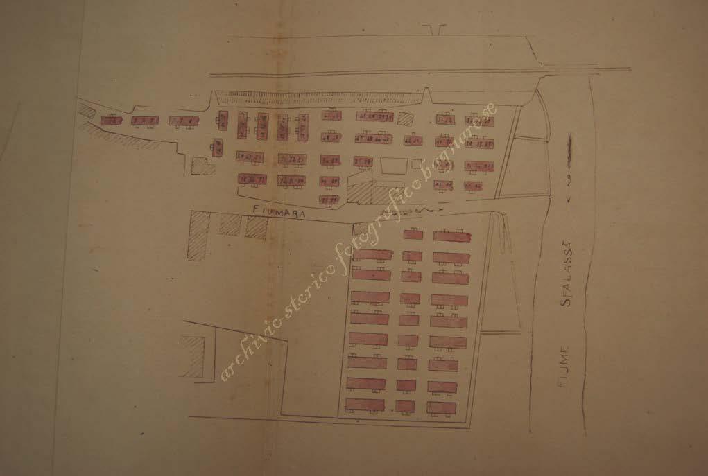 Disegni dei baraccamenti post terremoto del 1908