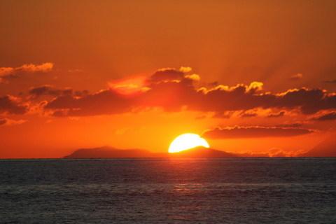 Bagnara Calabra  Sequenza del calar del sole del 15 agosto 2016