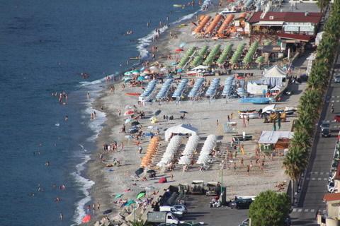 2 agosto 2014 Panoramiche da località Canale