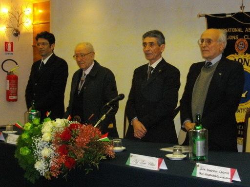 Bagnara 13 marzo 2011, conferimento cittadinanza onoraria  ai professori Rosario e Lucio Villari. Foto di Giuliana Villari