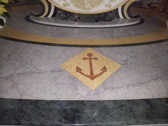 Gennaio 2013  Gli ultimi lavori di ristrutturazione della chiesa di S. Maria di Portosalvo  a cura devoti S. Maria di Portosalvo