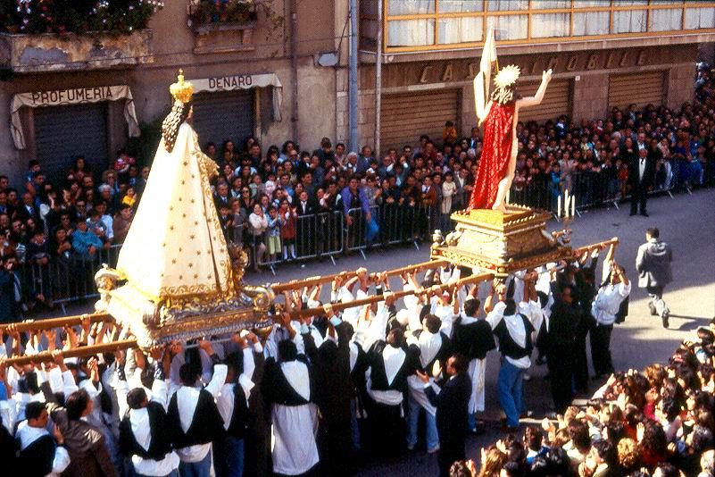 A Ffruntata 1993 - funzione completa - foto Franco e Gianni Saffioti