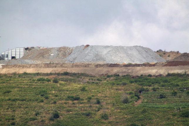 Ceramida nel 2000 e nel  2014  Panoramiche della frazione bagnarese e l'evoluzione del territorio