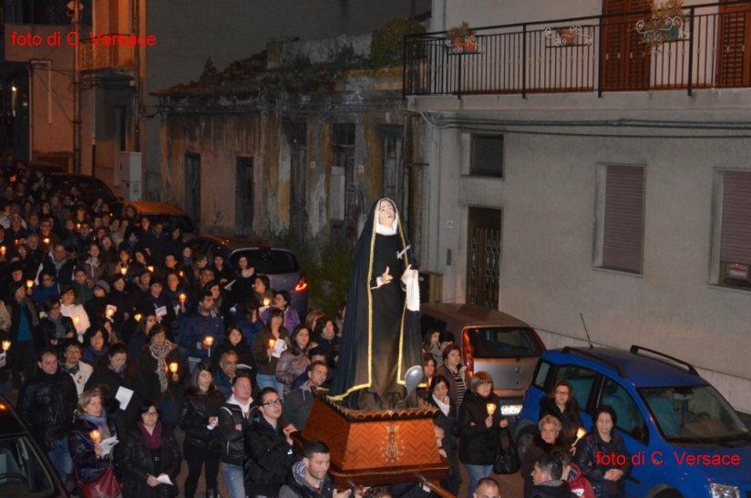 Il venerdì Santo 2014 a Porelli foto di C. Versace