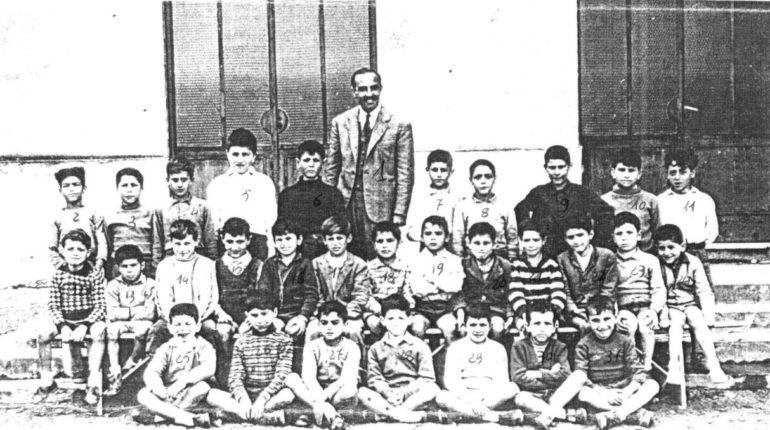 Classe 3° elementare di Bagnara  anno scolastico 1956 - 57  di Pepè Pavia