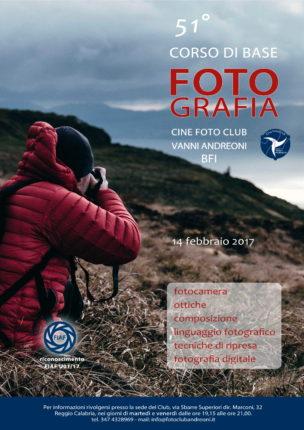 Corso di base di fotografia 51° edizione a cura del cine foto club Vanni Andreoni - 14 febbraio 2017