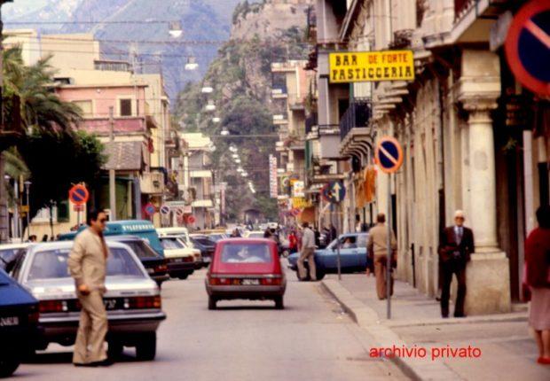 Bagnara metà anni 80  Il cuore del Corso V. E. II