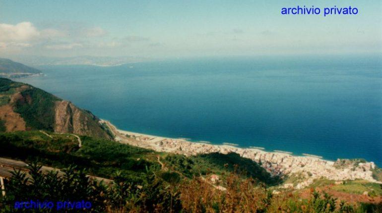 Bagnara Calabra anni 90  Veduta panoramica da Caccipuio