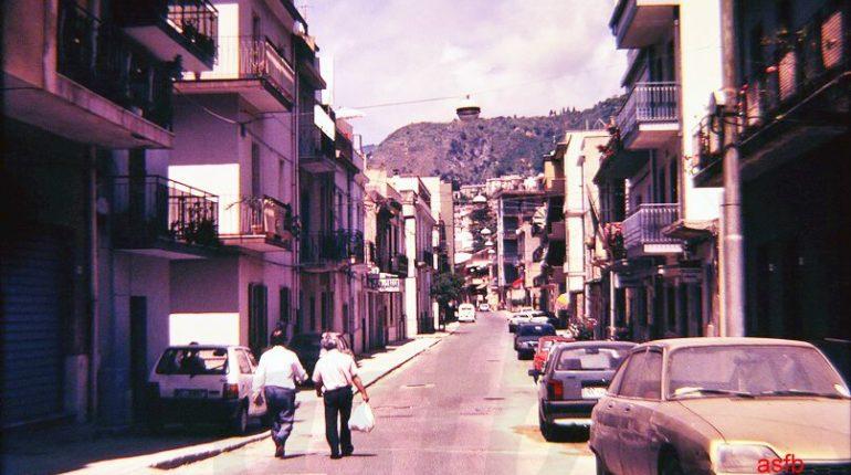 bagnara Tre immagini del corso Garibaldi negli anni 80